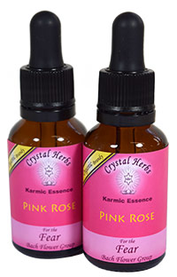 Pink Rose Flower Essence