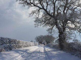 Snowy Norfolk Roads